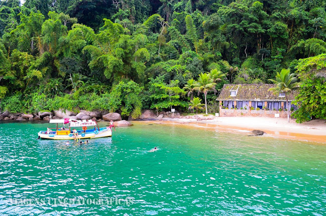 Paraty: Passeio de Barco - Praia da Lula