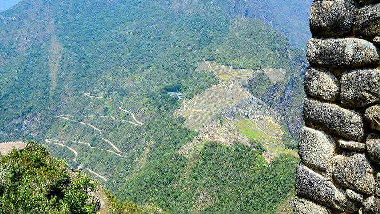 Huayna Picchu Trilha em Machu PIcchu
