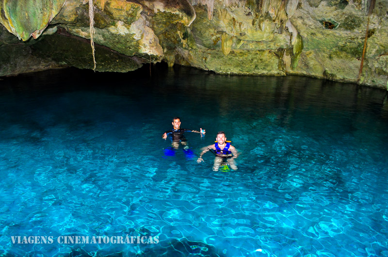 Top 7 Melhores Cenotes de Cancun, Riviera Maya, Tulum: Cenote dos Ojos