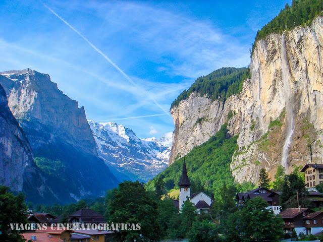 Lauterbrunnen Jungfrau - Alpes Suíços