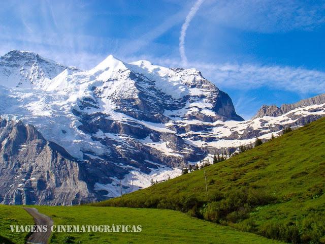 Eiger Jungfrau - Alpes Berneses