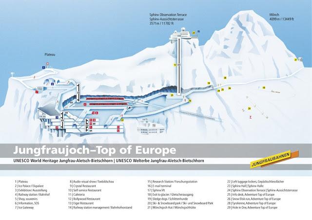 Jungfraujoch Suíça - Top of Europe