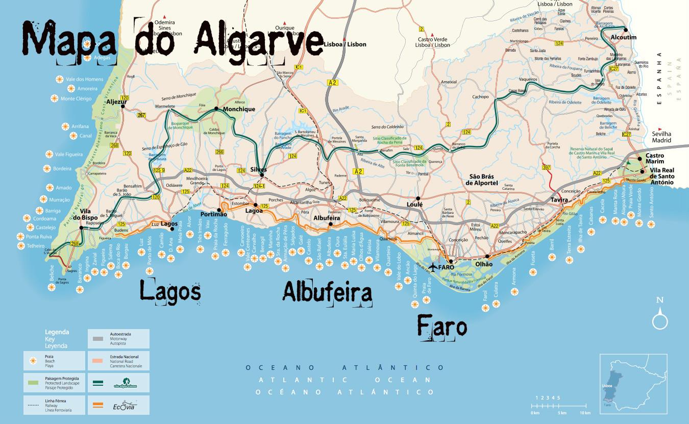 Algarve Dicas: Como Chegar e Como Circular sem Carro