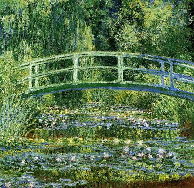 Water Lilies and Japanese Garden, 1899.