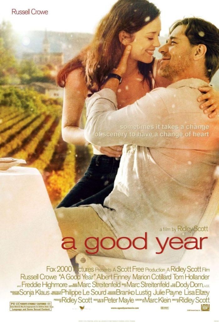 Os melhores filmes de viagem na Itália e França: Um Bom Ano tem locações na Provence
