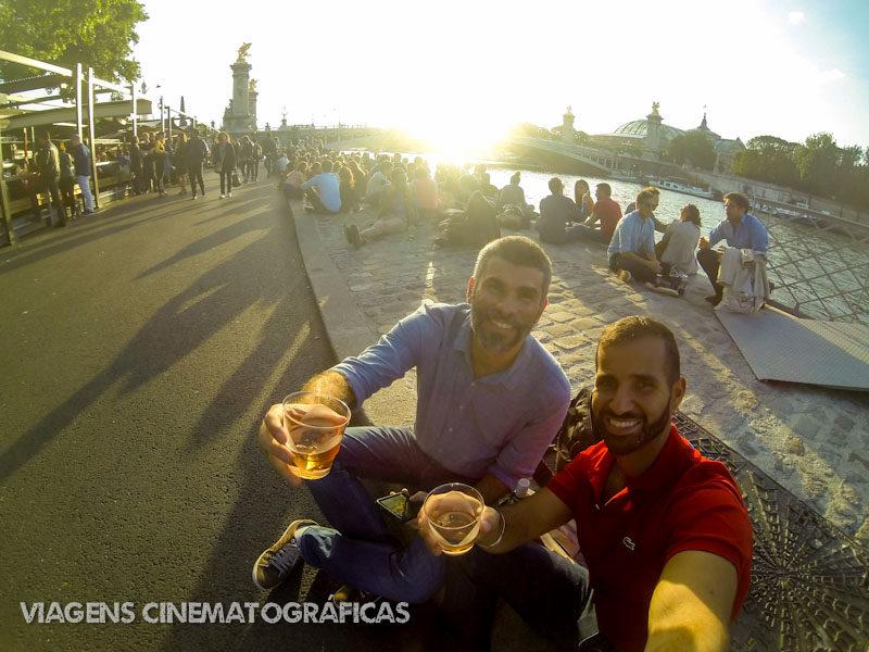 A Paris do filme Antes do Pôr do Sol: às margens do Rio Sena