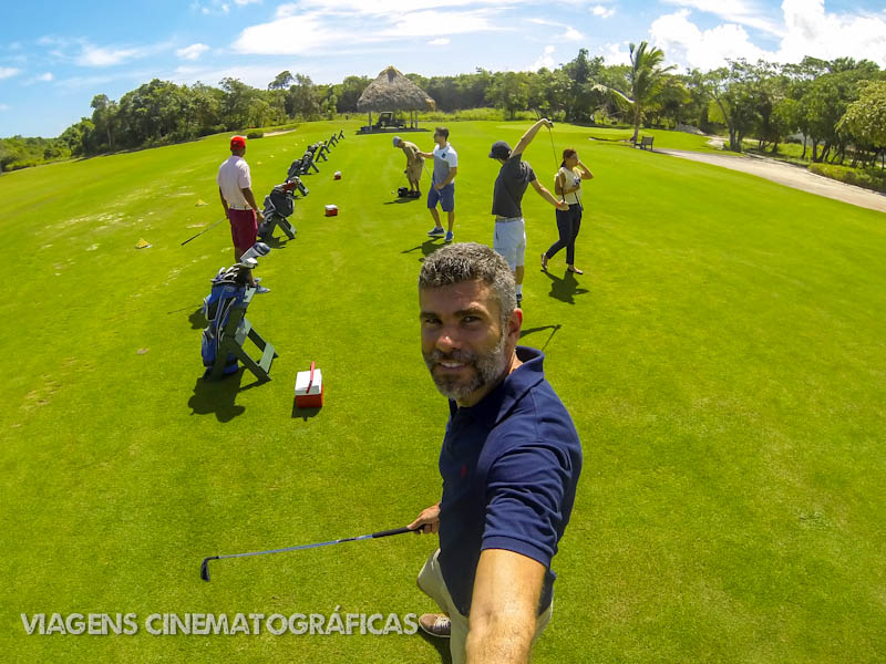 Hard Rock Golf, outra das experiências de cinema no hotel