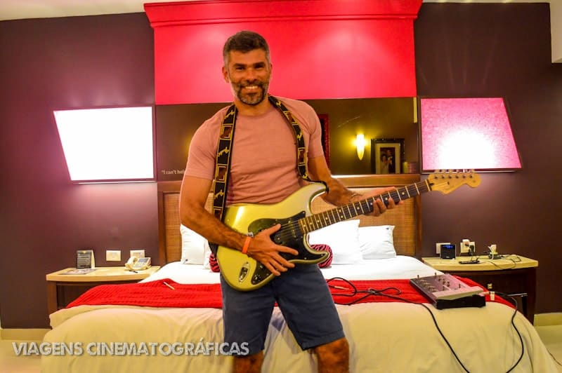 Experiência do Sound of your Stay no Hard Rock