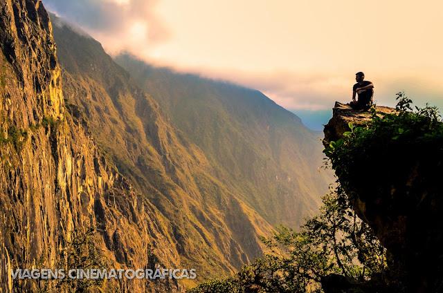 Trilha da Ponte Inca, em Machu Picchu
