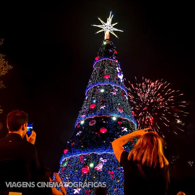 Natal em São Paulo: Árvore do Ibirapuera