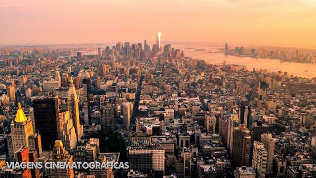 Nova York vista do Empire State Building