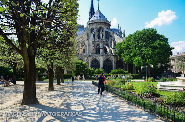 Paris Ile de la Cite: Square du Jean XXIII