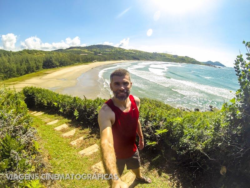 Trilha da Praia do Rosa até Garopaba - Praia Vermelha