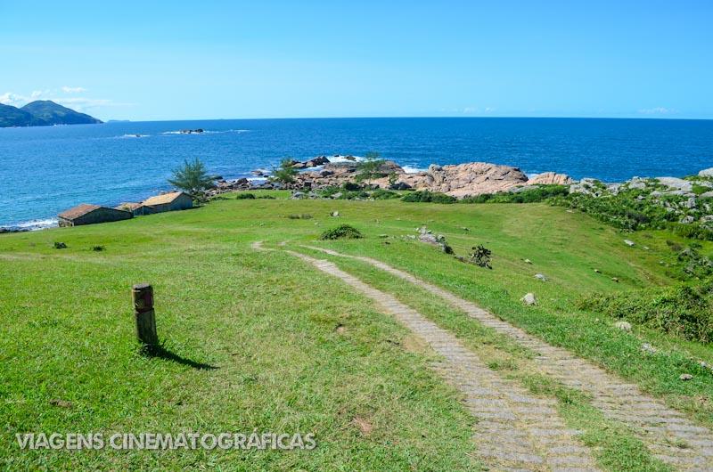 Trilha de Garopaba até Praia do Rosa - Praias de Santa Catarina