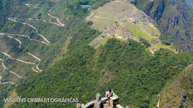 Huayna Picchu é uma montanha com vista incrivel para Machu Picchu