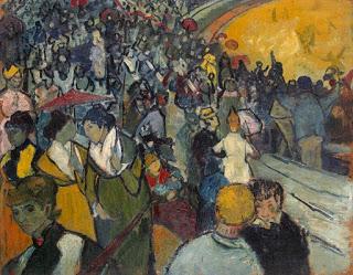 Vincent van Gogh: Arena at Arles, 1888