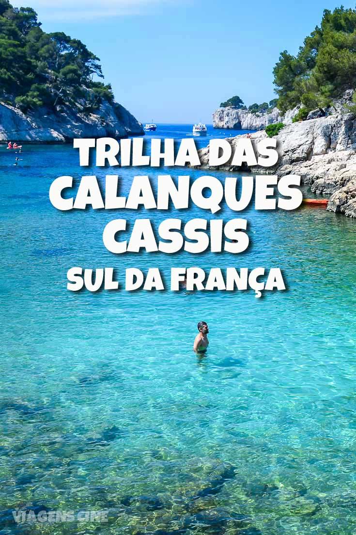 Calanques Cassis e Marselha Sul da França
