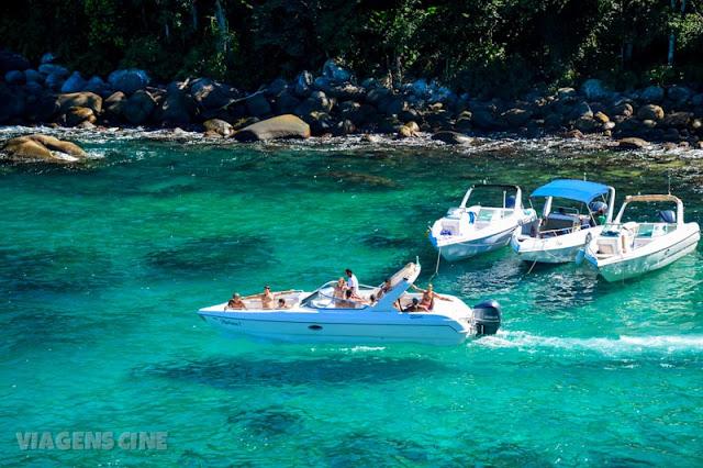 Ilha Grande: Passeio de Lancha Volta a Ilha - Praia do Caxadaço