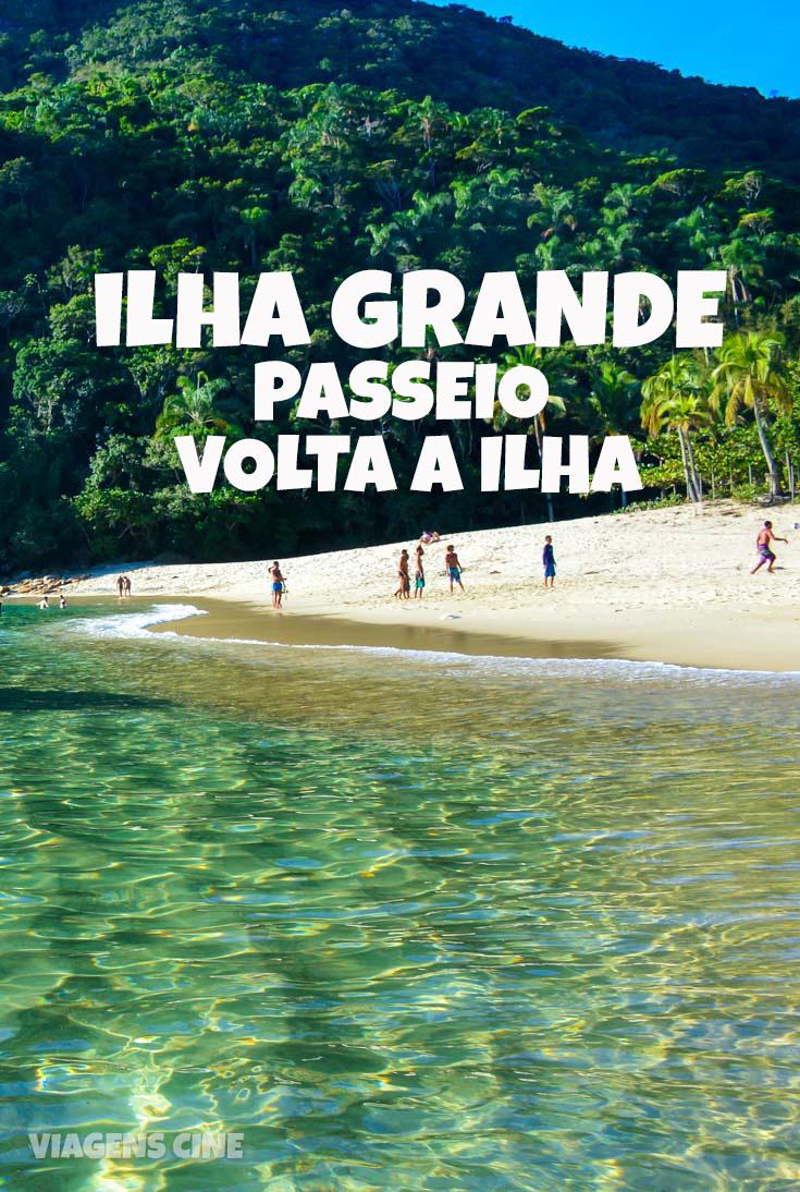 Ilha Grande: Passeio de Lancha Volta a Ilha - Praia de Caxadaço, Parnaioca, Praia do Aventureiro e Praia dos Meros