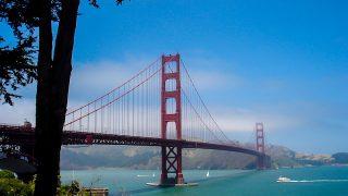 A Golden Gate é um dos cartões postais e ficou ainda mais famosa pelas telas do cinema