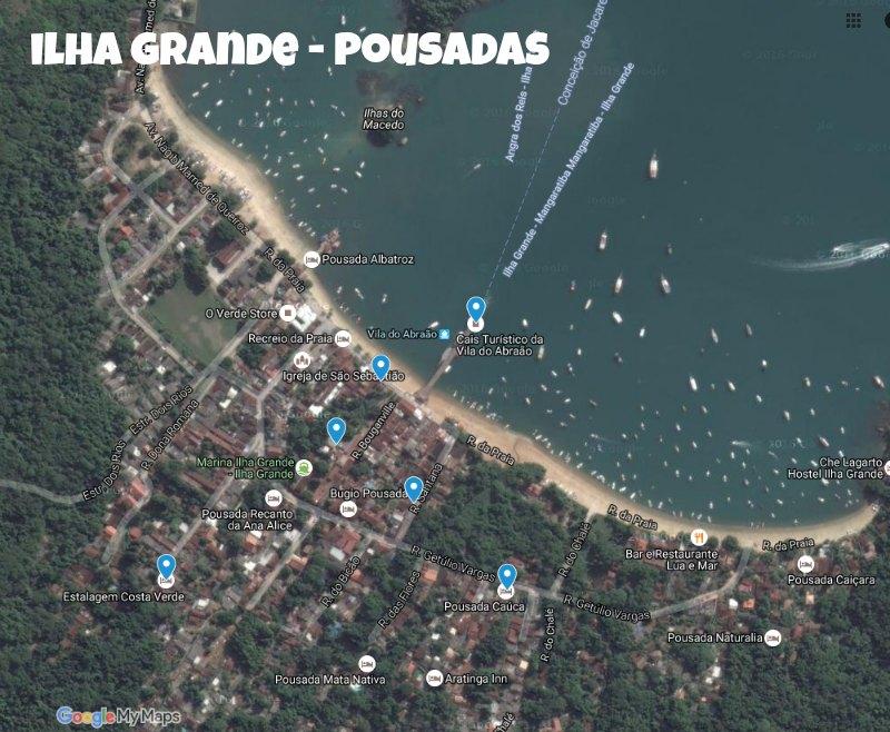 Veja mapa ampliado no Google Maps