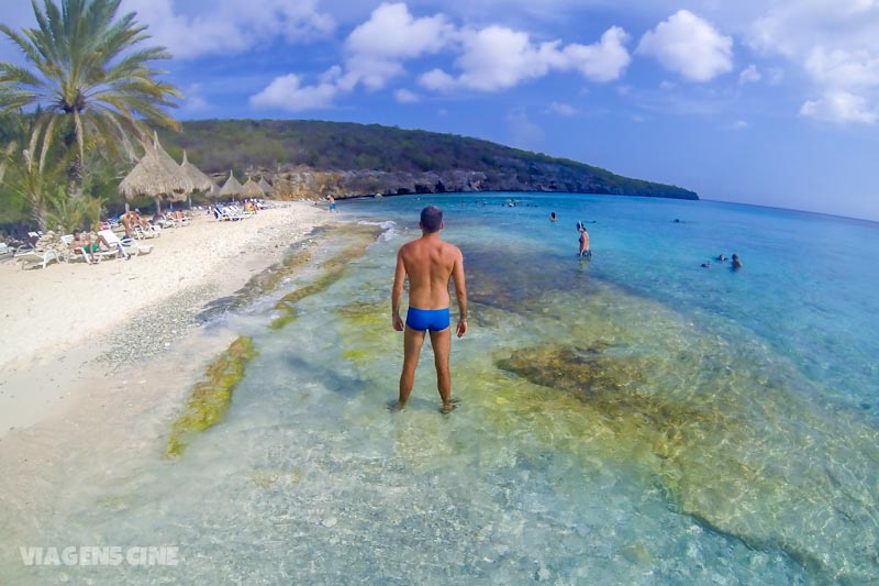 Melhores Praias de Curaçao Caribe: Cas Abao