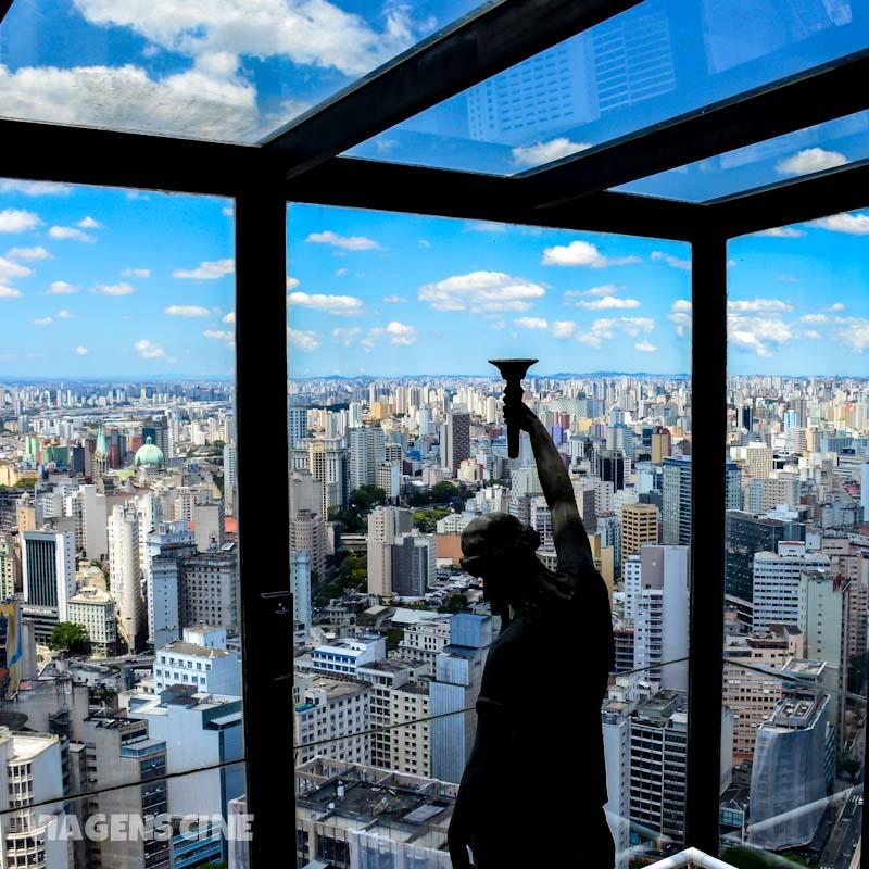 Mirante de São Paulo no Terraço Itália: vista incrível para a cidade