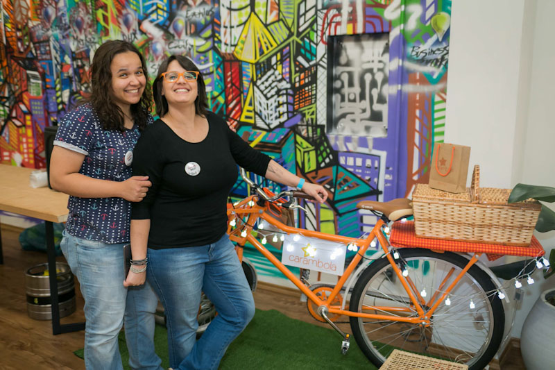 Carambola Food Bike: brownies deliciosos em Sampa