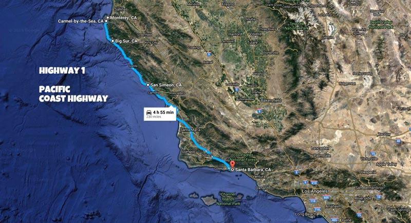 Roteiro Road Trip California: San Francisco a Los Angeles - Highway 1