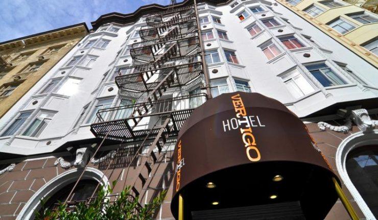 Dica Hotel em San Francisco: Hotel Vertigo Hitchcock