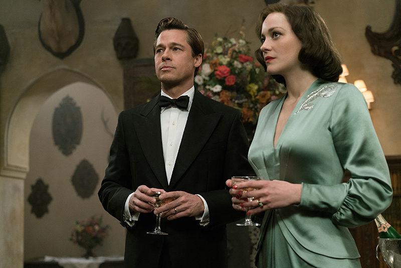 Filme Aliados: Brad Pitt e Marion Cotillard