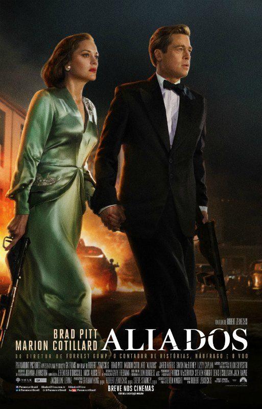 Filme Aliados, dirigido por Robert Zemeckis