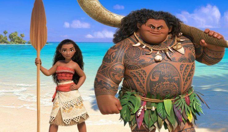Moana e as Ilhas do Tahiti Polinésia Francesa