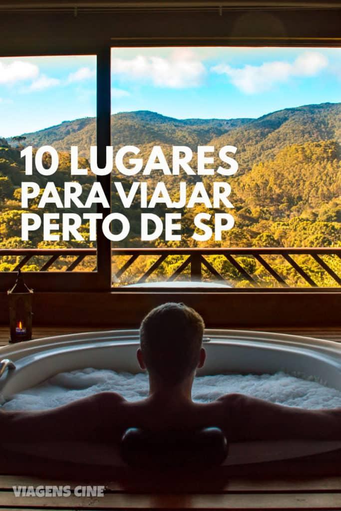 10 Lugares para Viajar perto de SP, MG ou RJ - Final de Semana ou Feriados