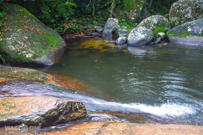 Ilha Grande com Chuva: Circuito Vila do Abraão, Poção