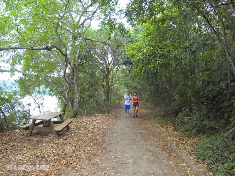 Ilha Grande com Chuva: Trilha Circuito Vila do Abraão