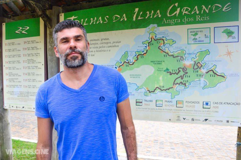 Ilha Grande com Chuva: Circuito Vila do Abraão