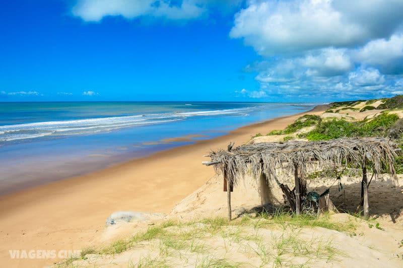 Melhores Praias do Espírito Santo: Praia de Riacho Doce, na divisa com a Bahia