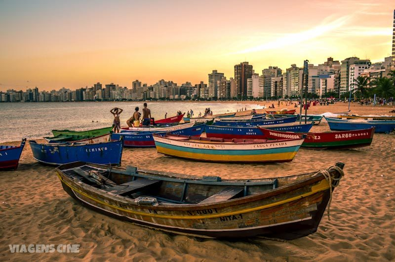 Melhores Praias do Espírito Santo: Praia da Costa em Vila Velha