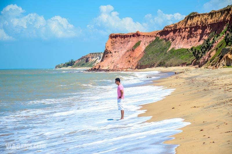 Melhores Praias do Espírito Santo: Praia das Falésias