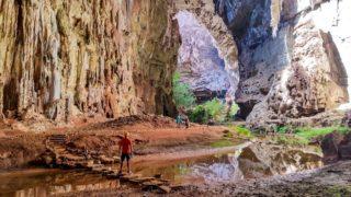 Cavernas do Peruaçu: Gruta do Janelão