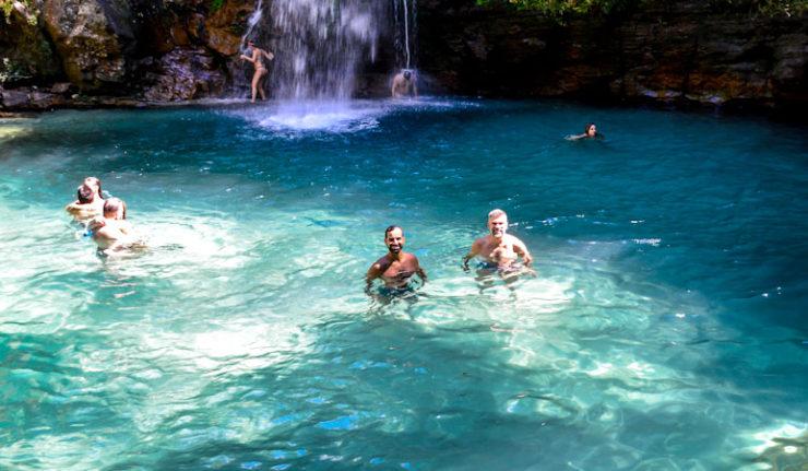 Leia também: Cachoeira Santa Bárbara, em Cavalcante