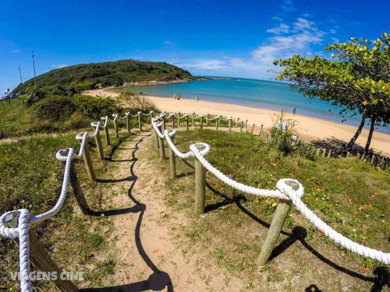 O que fazer em Guarapari - Espírito Santo: Praia de Bacutia