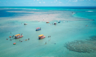 O que fazer em Porto de Pedras: Praia do Patacho e Peixe-Boi - Alagoas