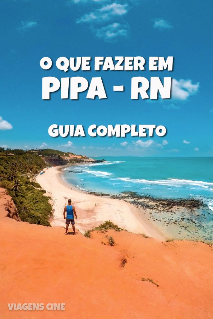 O que fazer em Pipa RN: dicas e roteiro de viagem de 3 ou 4 dias na região - Praia da Pipa