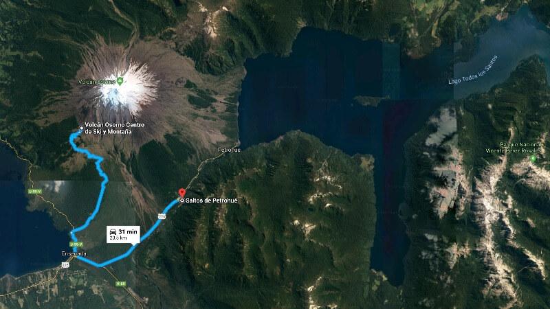 Vulcão Osorno Centro de Ski, Chile