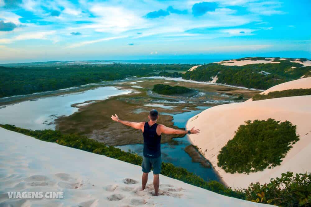 Dunas de Genipabu: Passeio de Buggy em Natal RN - Lagoa de Genipabu