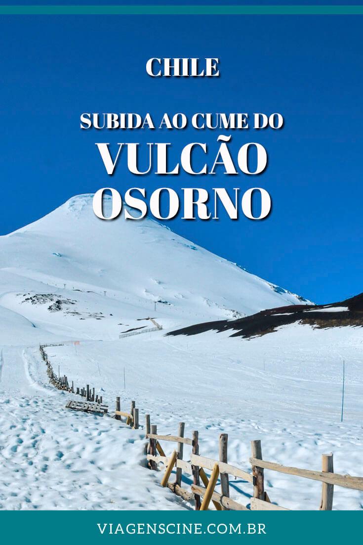 Como é a subida de teleférico até o cume do Vulcão Osorno, na região dos Lagos Andinos #Chile #PuertoVaras #Osorno #Vulcao #Viagem
