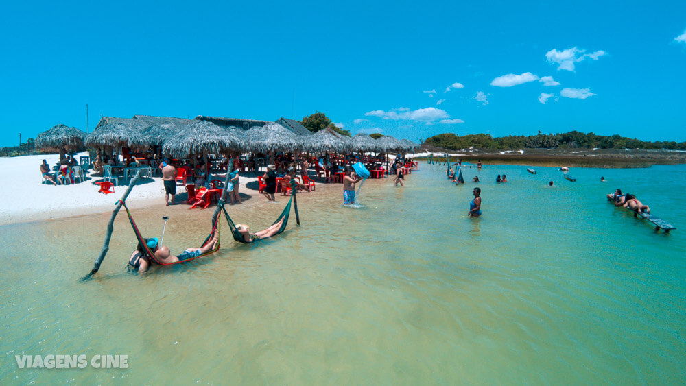 Jericoacoara: Lagoa do Paraíso e Lagoa Azul – Passeio Litoral Leste