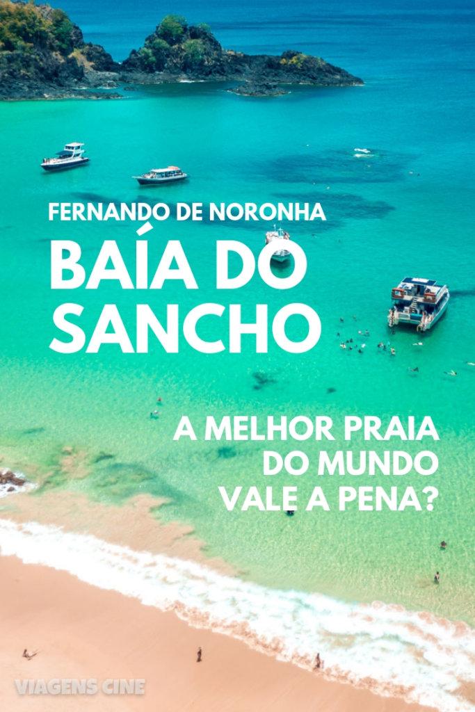 Baía do Sancho - Fernando de Noronha: A Melhor Praia do Mundo. Confira como ir e as dicas para conhecer e aproveitar o melhor da Baía do Sancho #BaiadoSancho #Sancho #Noronha #FernandodeNoronha #Brasil